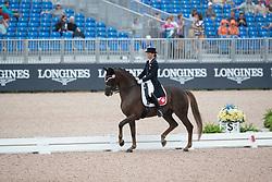 Häcki Caroline, SUI, Rigoletto Royal CH<br /> World Equestrian Games - Tryon 2018<br /> © Hippo Foto - Dirk Caremans<br /> 12/09/18