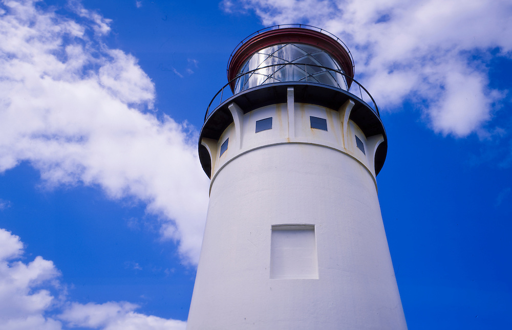Kilauea Lighthouse, Kilauea Point National Wildlife Refuge, Kauai, Hawaii, US