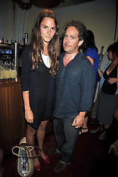 TOM HOLLANDER and FRAN HICKMAN at a special screening of Time Bandits by Terry Gilliam hosted by Faber-Castell and GQ magazine held at The Electric Cinema, 191 Portobello Road, London W11 on 29th June 2009.