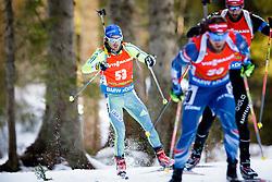 Ted Armgren (SWE) competes during Men 12,5 km Pursuit at day 3 of IBU Biathlon World Cup 2015/16 Pokljuka, on December 19, 2015 in Rudno polje, Pokljuka, Slovenia. Photo by Ziga Zupan / Sportida