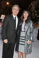 FARES & TANIA FARES at a dinner hosted by Cartier following the following the opening of the Chelsea Flower Show 2012 held at Battersea Power Station, London on 21st May 2012.