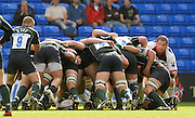 Reading, GREAT BRITAIN, Saracens, Andy FARRELL. looks round the scrum as the exiles push on from the put in,  during the EDF Energy Cup, rugby match, London Irish vs Saracens at the Madejski  Stadium, ENGLAND, 30/09/2006. [Photo, Peter Spurrier/Intersport-images].
