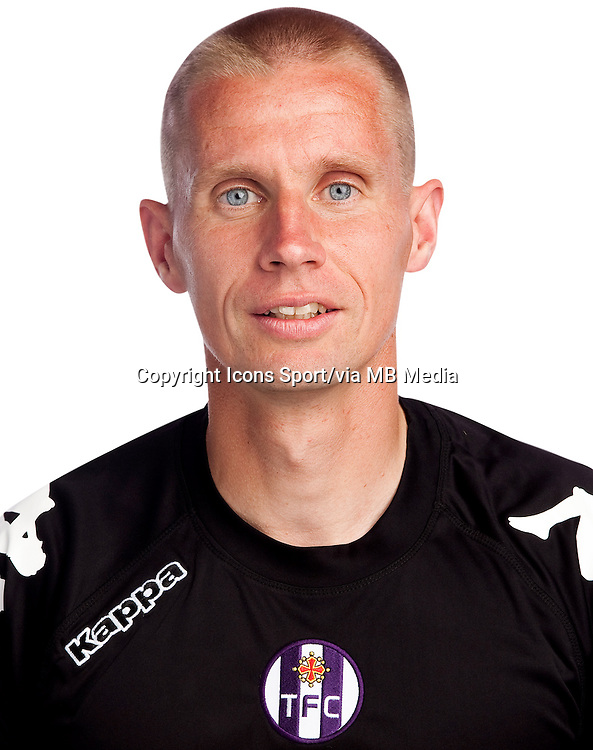Olivier Blondel - 02.10.2013 - Photo officielle Toulouse - Ligue 1<br /> Photo : Icon Sport
