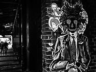Look what's lurking around a corner on Gansevoort street in New York City.