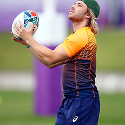 TOKYO, JAPAN - OCTOBER 15: Faf de Klerk during the South African national rugby team training session at Fuchu Asahi Football Park on October 15, 2019 in Tokyo, Japan. (Photo by Steve Haag/Gallo Images)