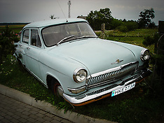 Lithuania Vintage cars in colour