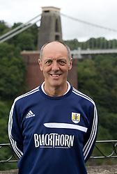 Bristol City matchday assistant Phil Tart - Photo mandatory by-line: Kieran McManus/JMP - Tel: Mobile: 07966 386802 31/07/2013 - SPORT - FOOTBALL - Avon Gorge Hotel - Clifton Suspension bridge - Bristol -  Team Photo