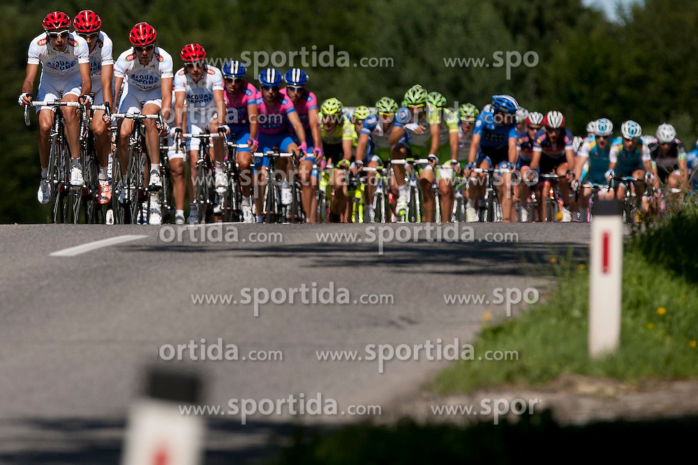 Group during 1st Stage (164 km) at 19th Tour de Slovenie 2012, on June 14, 2012, in Celje, Slovenia. (Photo by Matic Klansek Velej / Sportida)