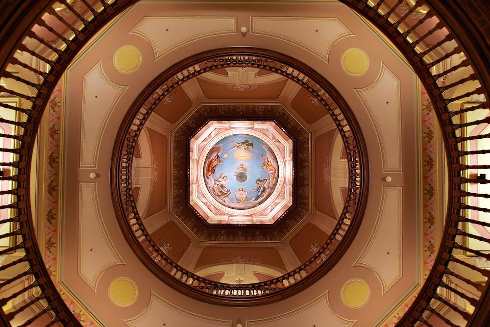 The rotunda in the Main Building