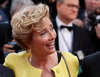 Actress Emma Thompson at The Meyerowitz Stories gala screening at the 70th Cannes Film Festival Sunday 21st May 2017, Cannes, France. Photo credit: Doreen Kennedy