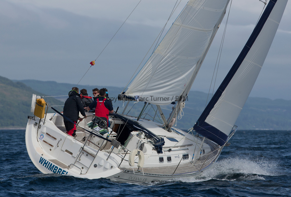 Silvers Marine Scottish Series 2017<br /> Tarbert Loch Fyne - Sailing Day 3<br /> <br /> 3510C, Whimbrel, Neil AM MacKinnon, CCC, Beneteau Oceanis 351