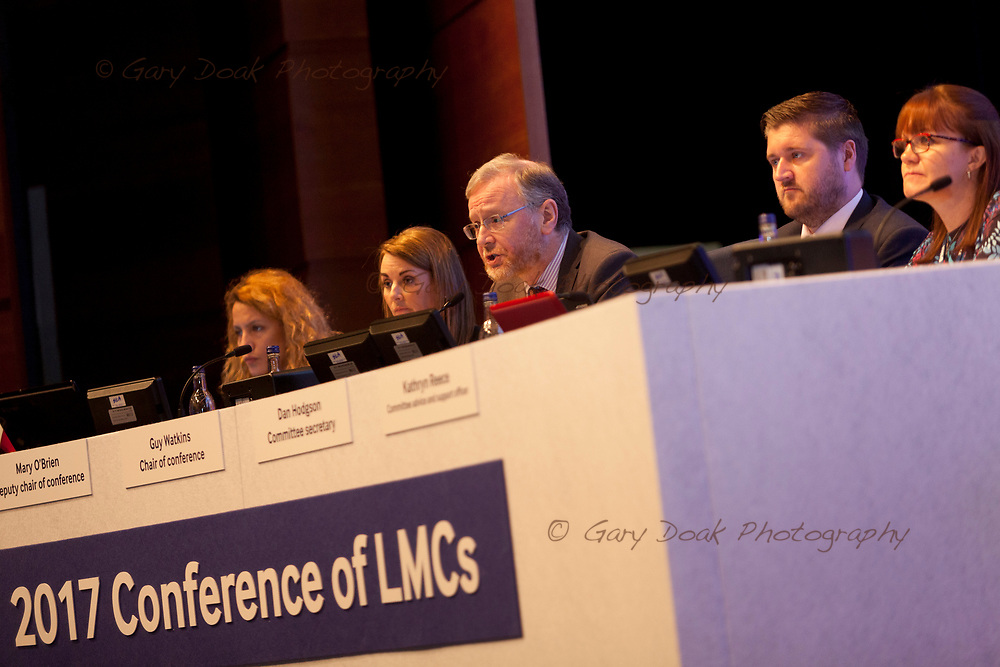 BMA LMC's Conference<br /> EICC, Edinburgh<br /> <br /> 18th May 2017<br /> <br /> Picture by Gary Doak