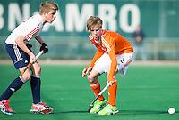 ROTTERDAM -   Floris de Bie (Neth) .  Practice Match  Hockey : Netherlands Boys U16  v England U16 . COPYRIGHT KOEN SUYK