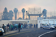 42 Prison Guards killed on bus as huge forest fire rages on the Carmel Mountain South of Haifa. Fire engulfs the Damon Prison .