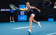 Karolina Pliskova of the Czech Republic in action during the final of the 2020 Brisbane International WTA Premier tennis tournament - Photo Rob Prange / Spain ProSportsImages / DPPI / ProSportsImages / DPPI