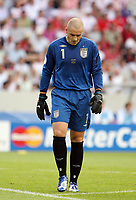 Photo: Chris Ratcliffe.<br /> <br /> England v Ecuador. 2nd Round, FIFA World Cup 2006. 25/06/2006.<br /> <br /> Paul Robinson of England.