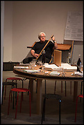 BRIAN CATLING, Matt's Gallery 35th birthday fundraising supper.  42-44 Copperfield Road, London E3 4RR. 12 June 2014.