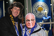 Leicester fans during the Premier League match at the King Power Stadium, Leicester<br /> Picture by Andy Kearns/Focus Images Ltd 0781 864 4264<br /> 27/02/2017
