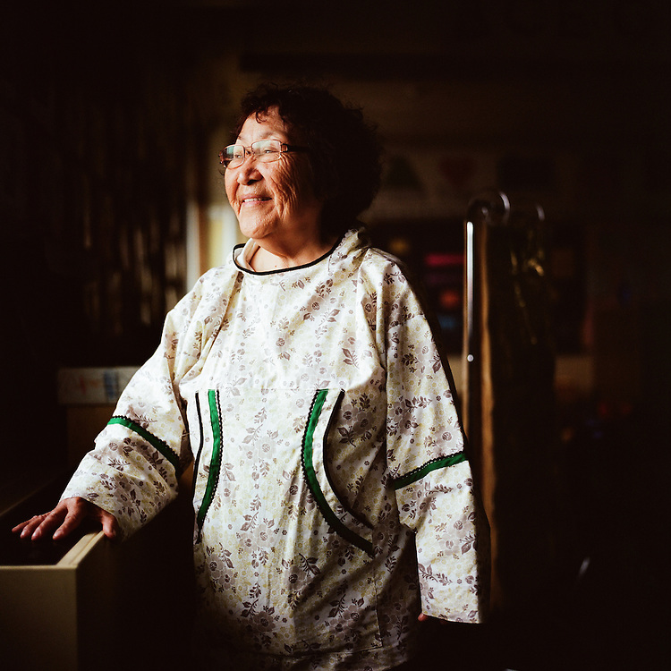 &quot;My name is Ayaprun, one of 13 Yup&rsquo;ik names. My baptismal name is Ludwina, but then during high school, they started calling me Lottie, so I started being known as Lottie Jones, originally from Scammon Bay, Alaska. I&rsquo;m one of nine sisters and a brother, which includes two adopted brothers and an adopted sister, so 13 in the family. I was the first to graduate from high school, then the first to graduate from college&mdash;in fact, in the whole village.<br />