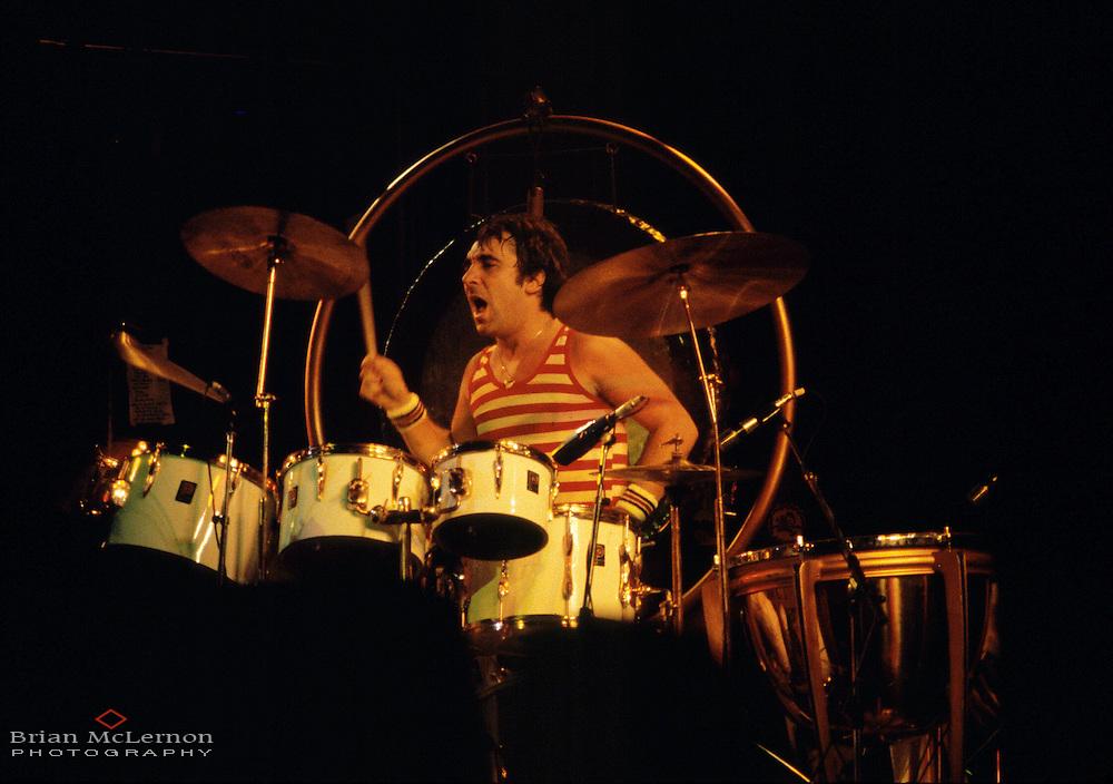 Keith Moon of The Who November 1977 in Phoenix, AZ