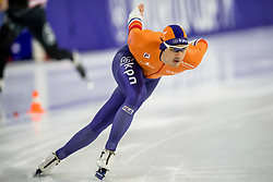 12-11-2017 NED: ISU World Cup, Heerenveen<br /> 1000m - Kai Verbij maakte indruk. De regerend wereldkampioen sprint reed naar het zilver op de 1000 meter  in 1.08,12