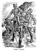 Heroic Serbia.