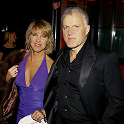 NLD/Amsterdam/20091121 - JFK Great men of the Year Gala 2009, Peter R de Vries en partner Angelique Schuitemaker