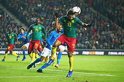 November 20, 2018 - Milton Keynes, United Kingdom - Eric Maxim Choupo-Moting of Cameroon .during Chevrolet Brazil Global Tour International Friendly between Brazil and Cameroon at Stadiummk stadium , MK Dons Football Club, England on 20 Nov 2018. (Credit Image: © Action Foto Sport/NurPhoto via ZUMA Press)