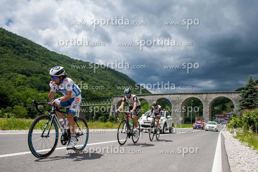 Gaffurini Nicola (Italy) of Norda - MG. K Vis during Stage 2 of 23rd Tour of Slovenia 2016 / Tour de Slovenie from Nova Gorica to Golte  (217,2 km) cycling race on June 17, 2016 in Slovenia. Photo by Urban Urbanc / Sportida