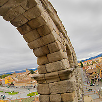 Alberto Carrera, Roman Aqueduct of Segovia, World Monument Fund, Segovia, World Heritage Site UNESCO, Castilla y León, Spain, Europe.