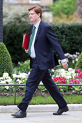 © Licensed to London News Pictures. 18/03/2014. London, UK. Treasury Secretary, Danny Alexander, arrives for a meeting of the British cabinet on Downing Street in London today (18/03/2014). Photo credit: Matt Cetti-Roberts/LNP