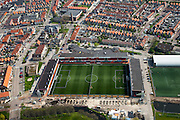 Nederland, Noord-Holland, Waterland, 28-04-2010; Stadion FC Volendam; Kras Stadion aan de Sportlaan.luchtfoto (toeslag), aerial photo (additional fee required).foto/photo Siebe Swart