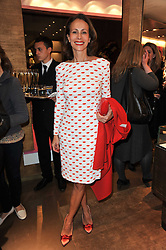 ANDREA DELLAL at the opening of Loewe's new boutique at 125 Mount Street, London on 23rd March 2011.