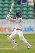 Yorkshire's Adam Lyth during the Specsavers County Champ Div 1 match between Somerset County Cricket Club and Yorkshire County Cricket Club at the County Ground, Taunton, United Kingdom on 17 May 2016. Photo by Graham Hunt.