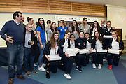 team under 17, team nazionale femminile senior<br /> Stelle d'Argento a Lucca. Premiazione Under 17 e Under 20 Femminili<br /> FIP 2016<br /> Lucca, 18/11/2016<br /> Foto Ciamillo - Castoria