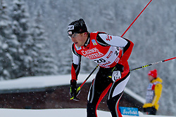 17.12.2011, Casino Arena, Seefeld, AUT, FIS Nordische Kombination, Langauf 10 km, im Bild Carlos Kammerlander (AUT) // Carlos Kammerlander of Austria during the cross-country skiing 10 km at FIS Nordic Combined World Cup in Sefeld, Austria on 20111211. EXPA Pictures © 2011, PhotoCredit: EXPA/ P.Rinderer