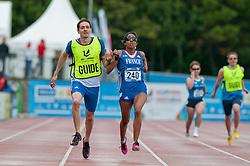 Elvina Vidot, Guide SCOUARNEC Loic, 2014 IPC European Athletics Championships, Swansea, Wales, United Kingdom