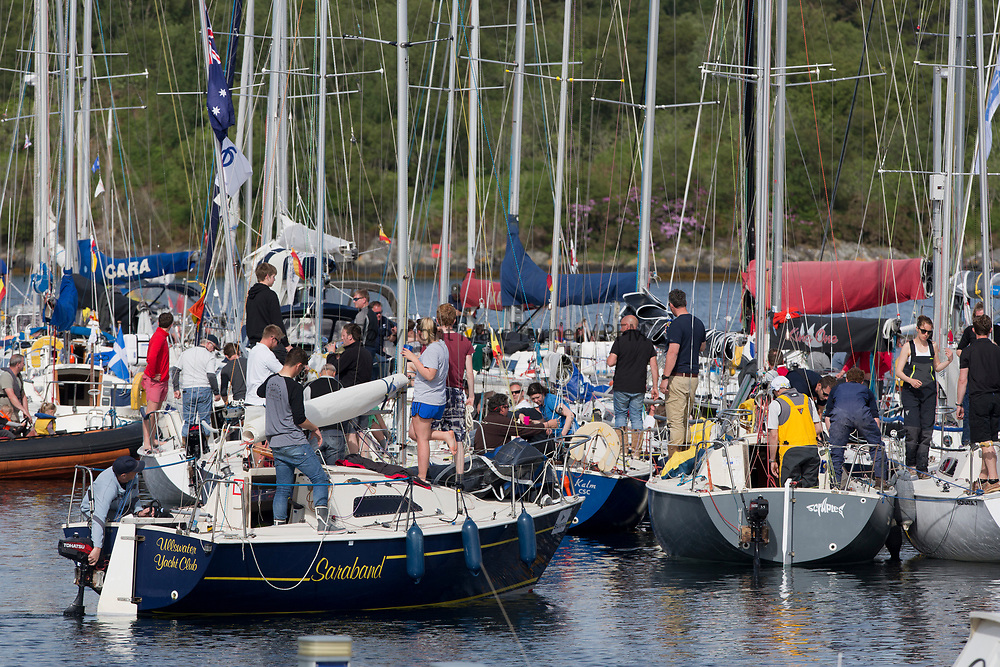 Silvers Marine Scottish Series 2017<br /> Tarbert Loch Fyne - Sailing<br /> <br /> Tarbert Harbour<br /> <br /> Credit: Marc Turner / CCC