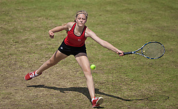 LIVERPOOL, ENGLAND - Saturday, June 22, 2019: Rhona Cook (GBR) during Day Three of the Liverpool International Tennis Tournament 2019 at the Liverpool Cricket Club. (Pic by David Rawcliffe/Propaganda)