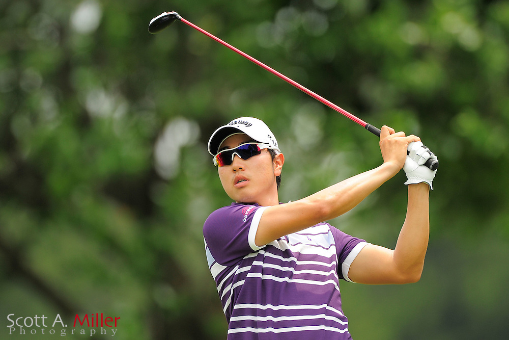 Sang-Moon Bae during the final round of the AT&T National at Congressional Country Club on July 1, 2012 in Bethesda, Maryland. ..©2012 Scott A. Miller