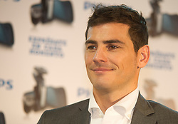 The goalkeeper of Real Madrid football club and boyfriend of journalist Sara Carbonero, Iker Casillas, is the new face of Philips, Madrid, Spain, October 18, 2012. Photo by Belen D. Alonso / DyD Fotografos / i- Images...SPAIN OUT.