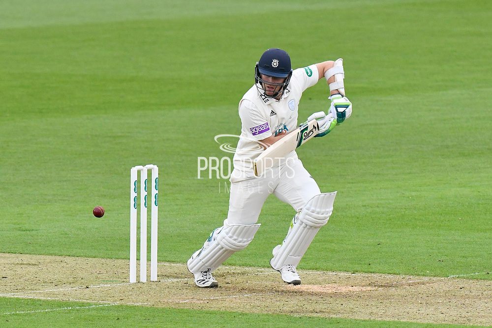 Liam Dawson of Hampshire batting during the Specsavers County Champ Div 1 match between Hampshire County Cricket Club and Worcestershire County Cricket Club at the Ageas Bowl, Southampton, United Kingdom on 13 April 2018. Picture by Graham Hunt.