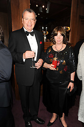 HE The Russian Ambassador Yuri Fedotov and Mrs Fedotov at 'Homage to Nureyev' a tribute to the legendary ballet dancer Rudolf Nureyev performed at the ENO, London COliseum, St.Martin's Lane, London on 21st March 2010.