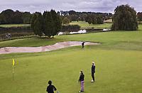 NUMANSDORP - Hole 6 van Golfclub Cromstrijen. COPYRIGHT KOEN SUYK