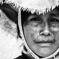 Local Peruvian woman in Cuzco, Peru.<br />