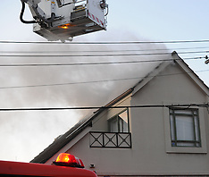 Wellington-Fire crews respond to ceiling fire, Hawker Street