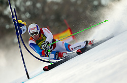 Carlo Janka of Switzerland competes during 1st Run of Men's Giant Slalom of FIS Ski World Cup Alpine Kranjska Gora, on March 5, 2011 in Vitranc/Podkoren, Kranjska Gora, Slovenia.  (Photo By Vid Ponikvar / Sportida.com)