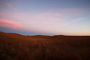 Sunset, Johnson Ranch. Burwell, Nebraska.