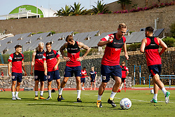 Gustav Engvall of Bristol City trains with his team mates - Mandatory by-line: Matt McNulty/JMP - 18/07/2017 - FOOTBALL - Tenerife Top Training Centre - Costa Adeje, Tenerife - Pre-Season Training