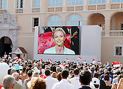 01.JULY.2011. MONACO<br /> <br /> ROYAL WEDDING OF PRINCE ALBERT OF MONACO AND CHARLENE WITTSTOCK<br /> <br /> BYLINE: EDBIMAGEARCHIVE.COM<br /> <br /> *THIS IMAGE IS STRICTLY FOR UK NEWSPAPERS AND MAGAZINES ONLY*<br /> *FOR WORLD WIDE SALES AND WEB USE PLEASE CONTACT EDBIMAGEARCHIVE - 0208 954 5968*